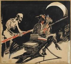 03_-Mario Sironi-Chiaro di luna-1915-cm51x57