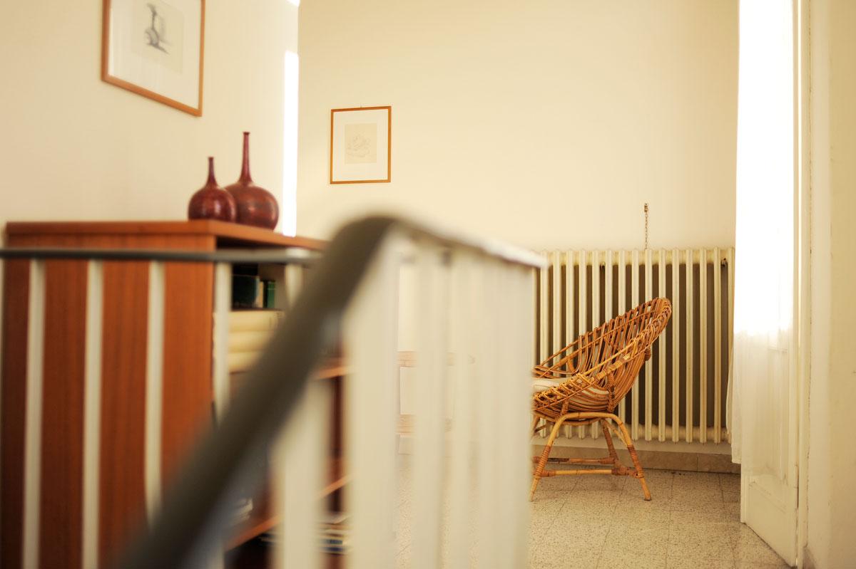 Luciano Leonotti, Casa Morandi, Scala di accesso al secondo piano, stampa fine art su carta cotone, 2014, cm 50x60