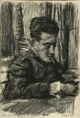 05_-Mario Sironi-Il  capitano Fantoni-1918