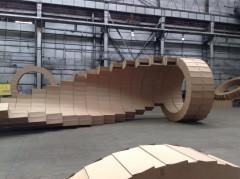 installazione di Michele Giangrande alla Biennale degli Urali