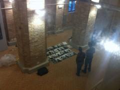 La sequenza del fiore di carta. Scatola bianca. Venezia. backstage