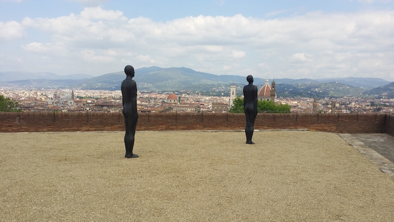 Antony Gormley HUMAN Forte di Belvedere, Florence, Italy
