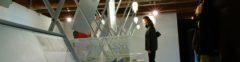 5 dicembre 2003, mostra nei locali della cartiera papale dedicata all'opera di richard horden