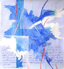 2012-Blu-Lettere mai spedite (C.A.)-T.M. su tela-50x50