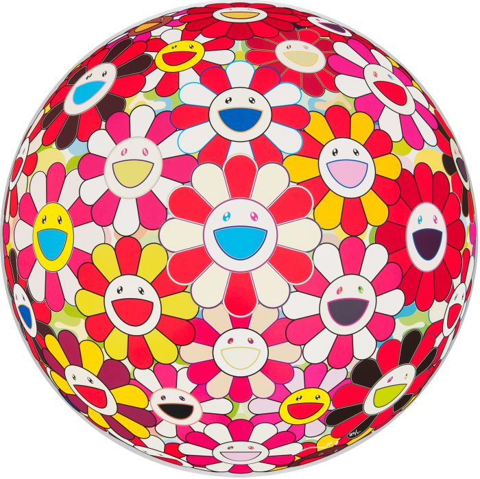 Takashi Murakami, Flowerball 3D Goldfish Colors