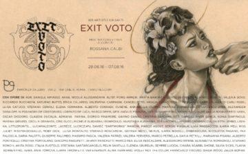 locandina exit voto stampa