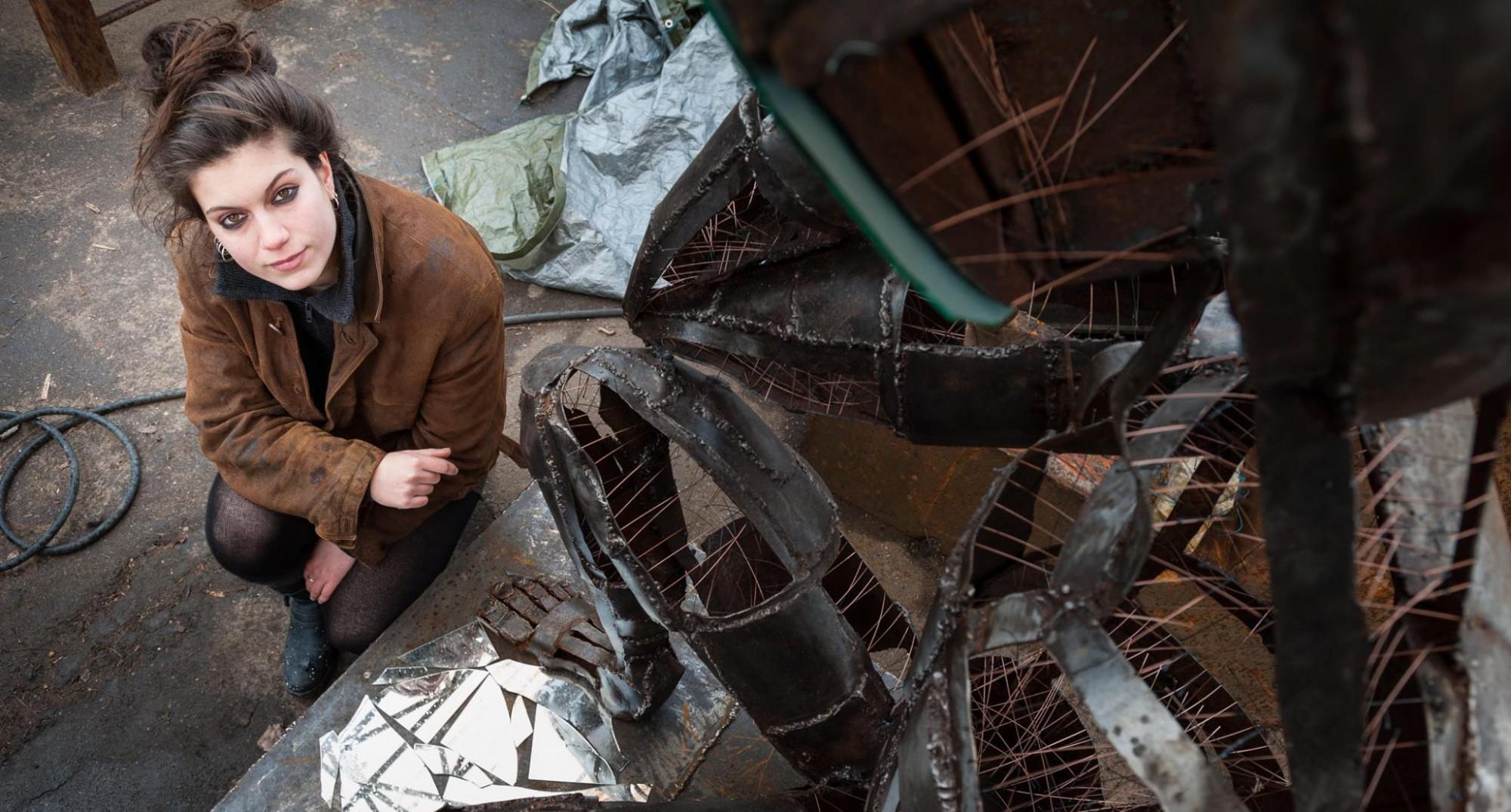 Il progetto FUORI parla tedesco: arriva a Grosseto la giovane artista Kerta von Kubin