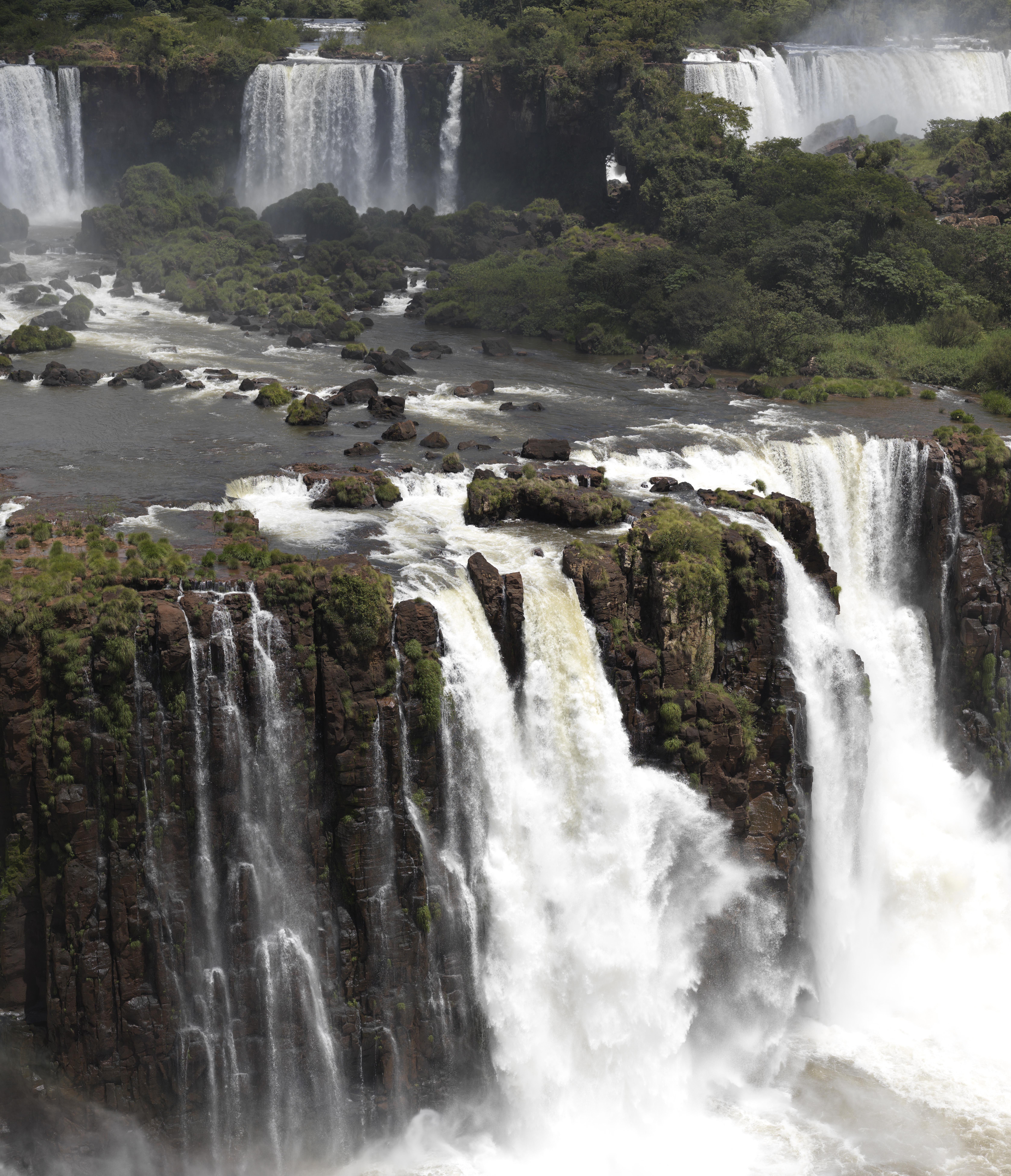 Cascate de Iguazu - Argentina stampa su tessuto pearl 180x209 15