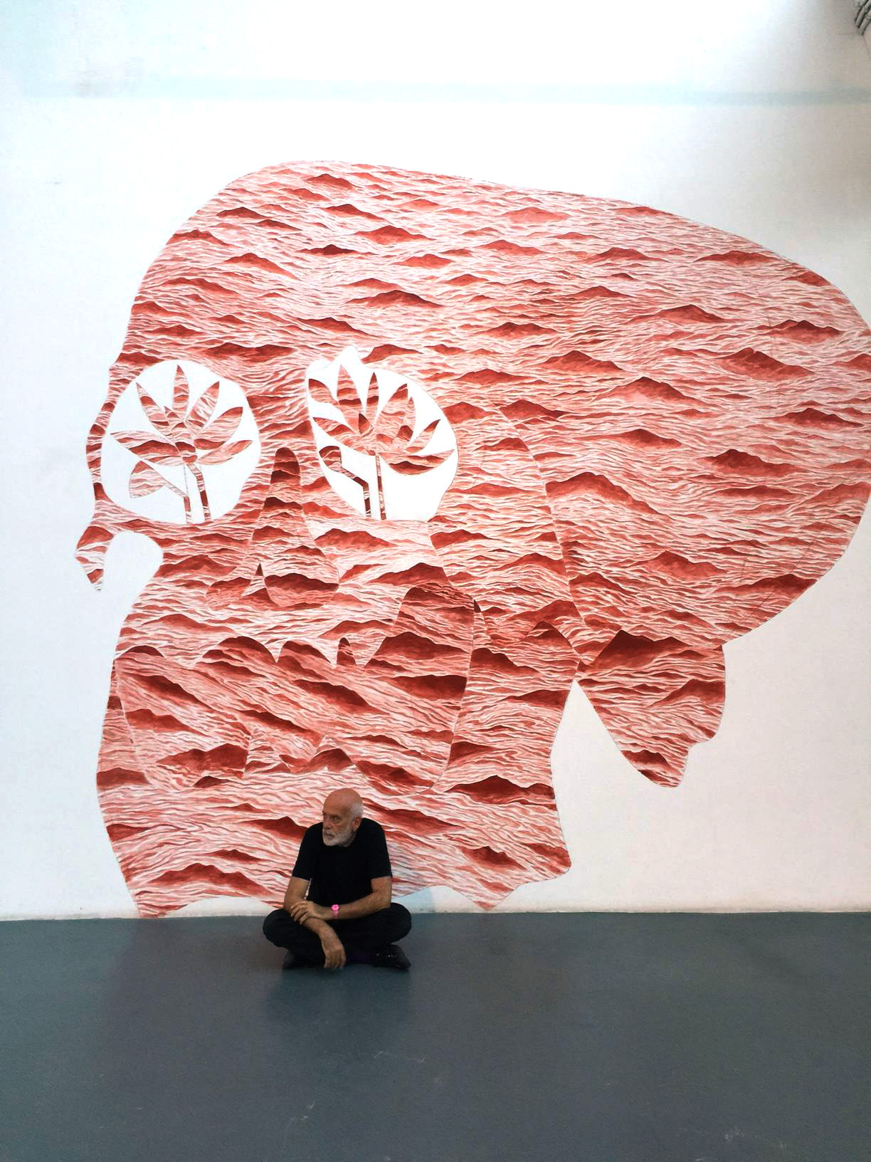 A Nomadic Life, Francesco Clemente in China