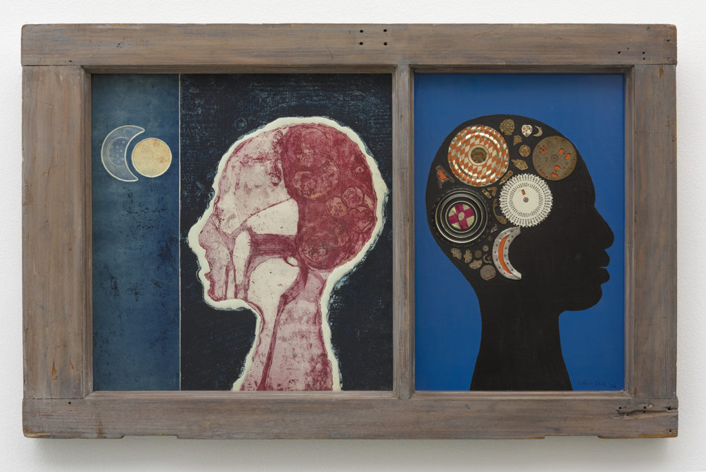 Betye Saar, The Phrenologers Window II, 1966