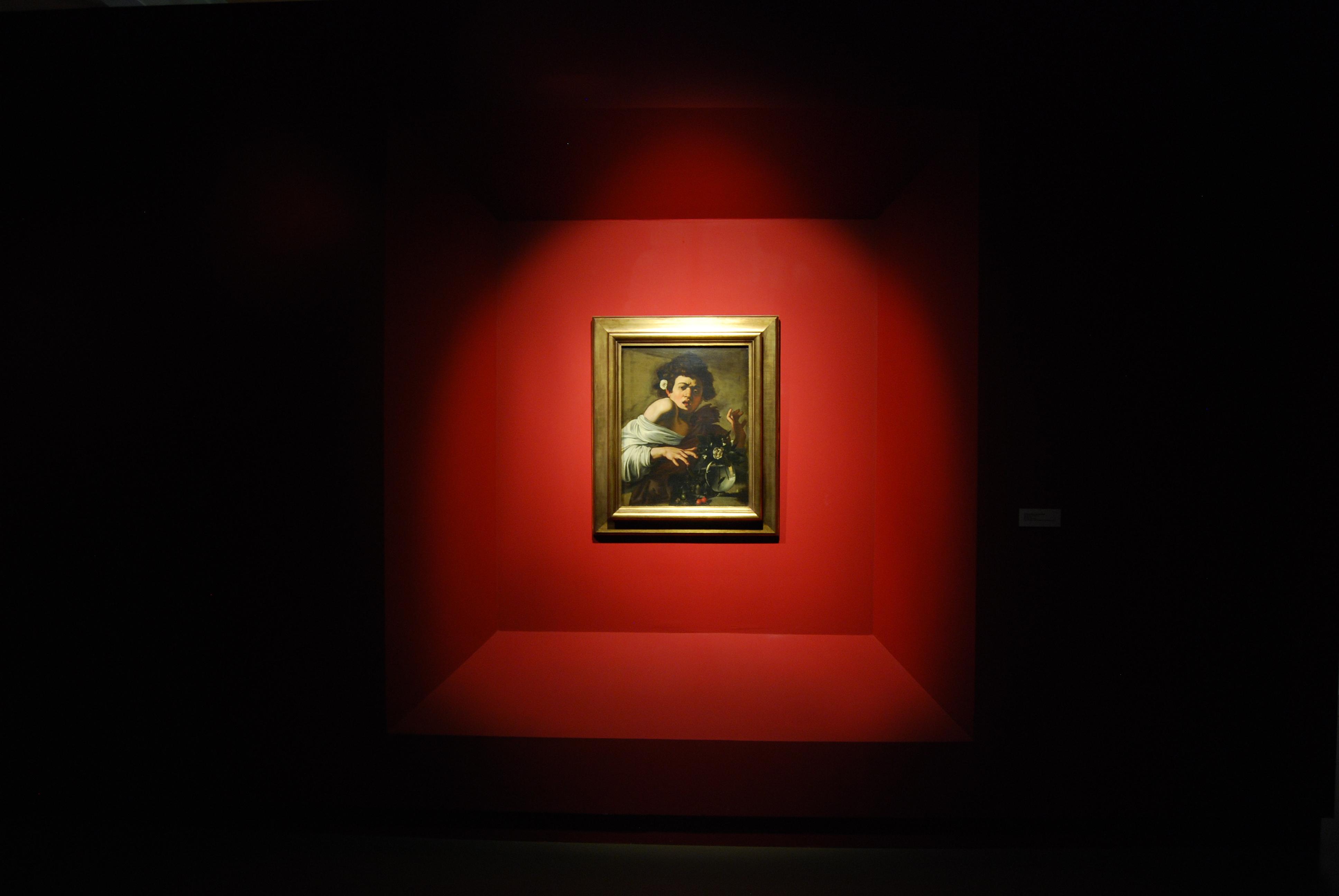 Michelangelo Merisi detto Il Caravaggio, Ragazzo morso da un ramarro 1595-6 circa, olio su tela