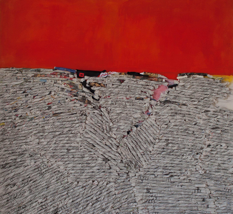 rossori-1995-carta-e-pigmenti-su-tela-cm-140x140