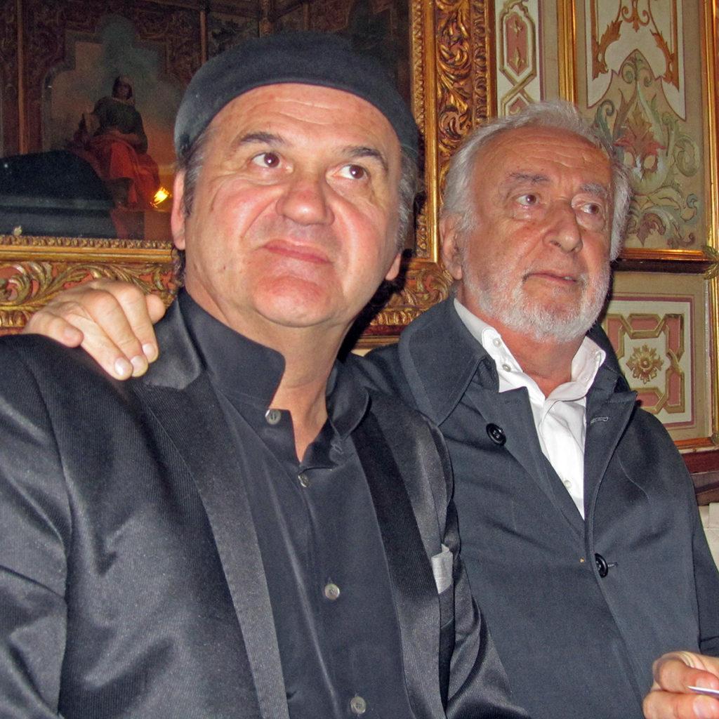 Omar Galliani Franco Cuomo International Award Palazzo Giustiniani