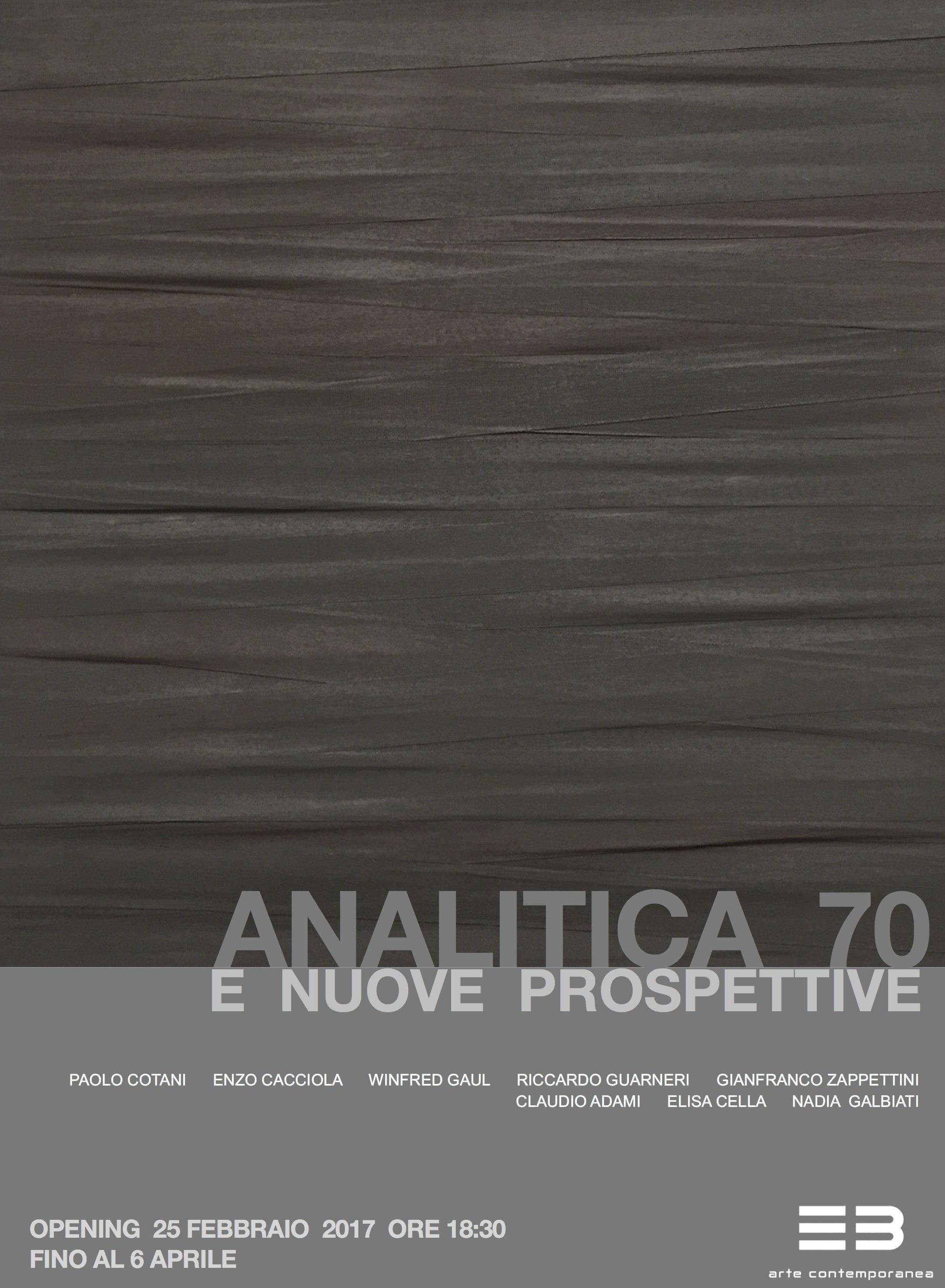 Analitica 70 e nuove prospettive