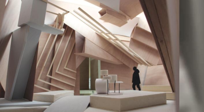 Studio Venezia, progetto per il Padiglione francese, courtesy Xavier Veilhan / ADAGP, Paris, 2017