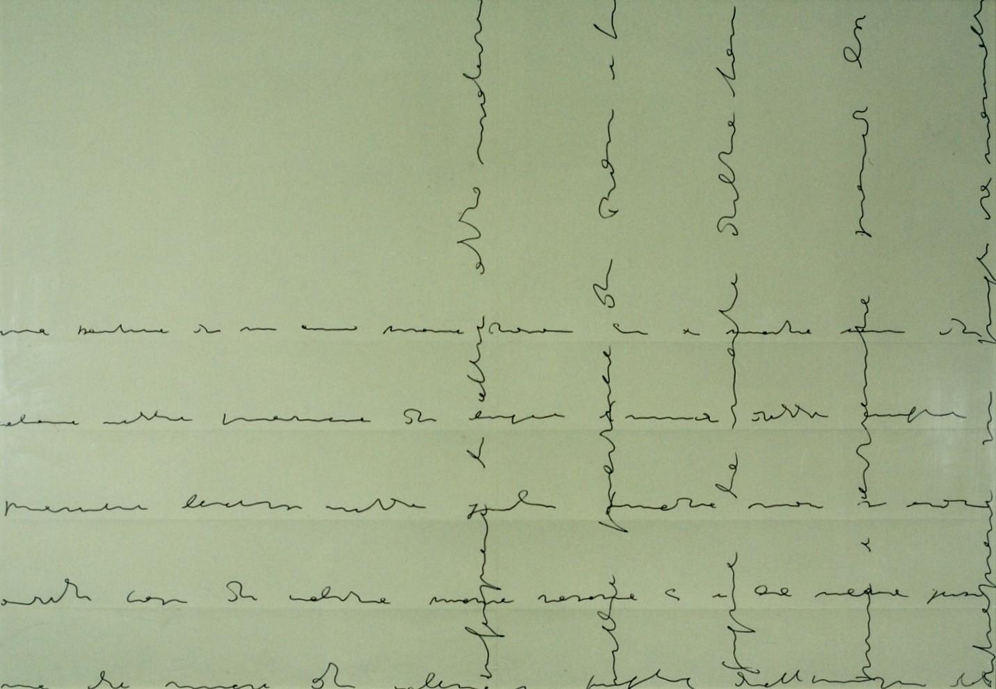 1972 Scrittura desemantizzata