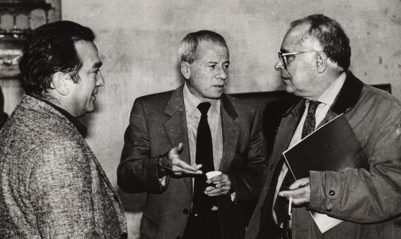 Cesare Manzo, Achille Bonito Oliva e Pietro Marino