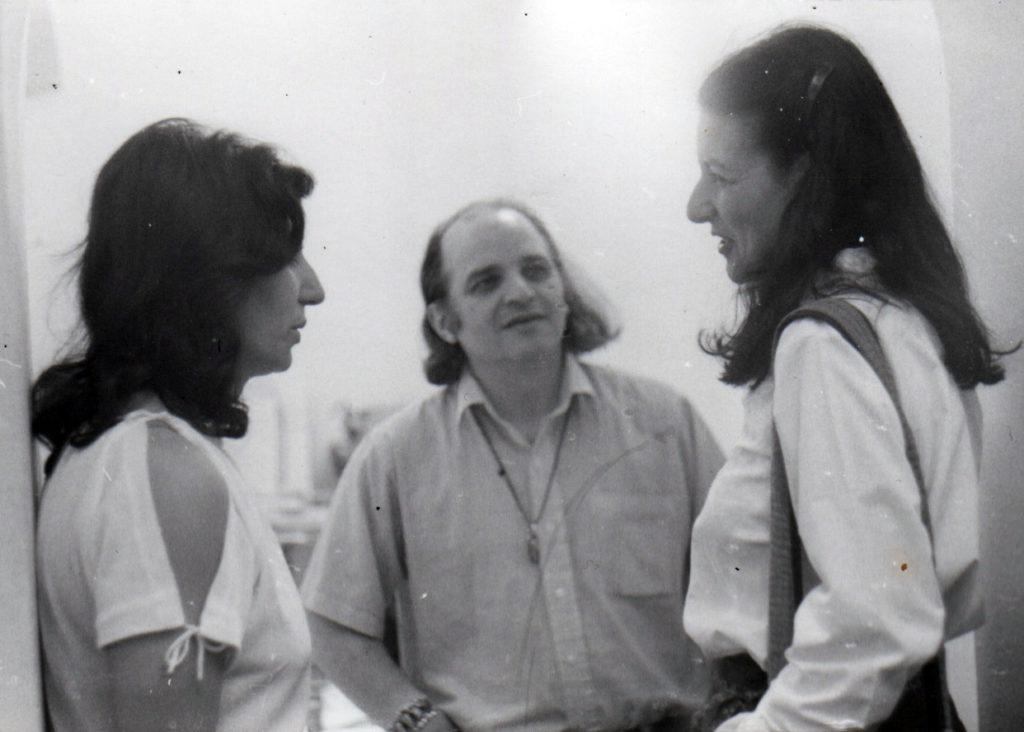 Lucia Spadano, Lucia Romualdi e Mario Diacono