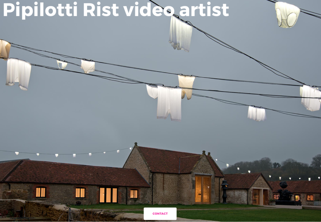 Pipilotti Rist website