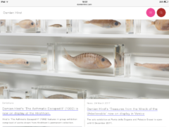 Damien Hirst website