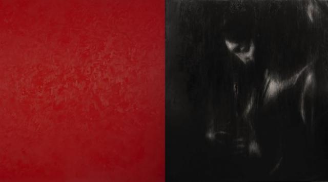 Omar Galliani Intorno a Caravaggio