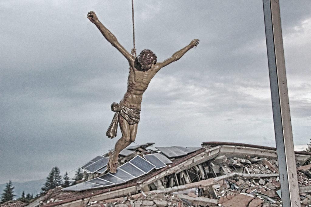 recupero delle opere d'arte nelle aree terremotate