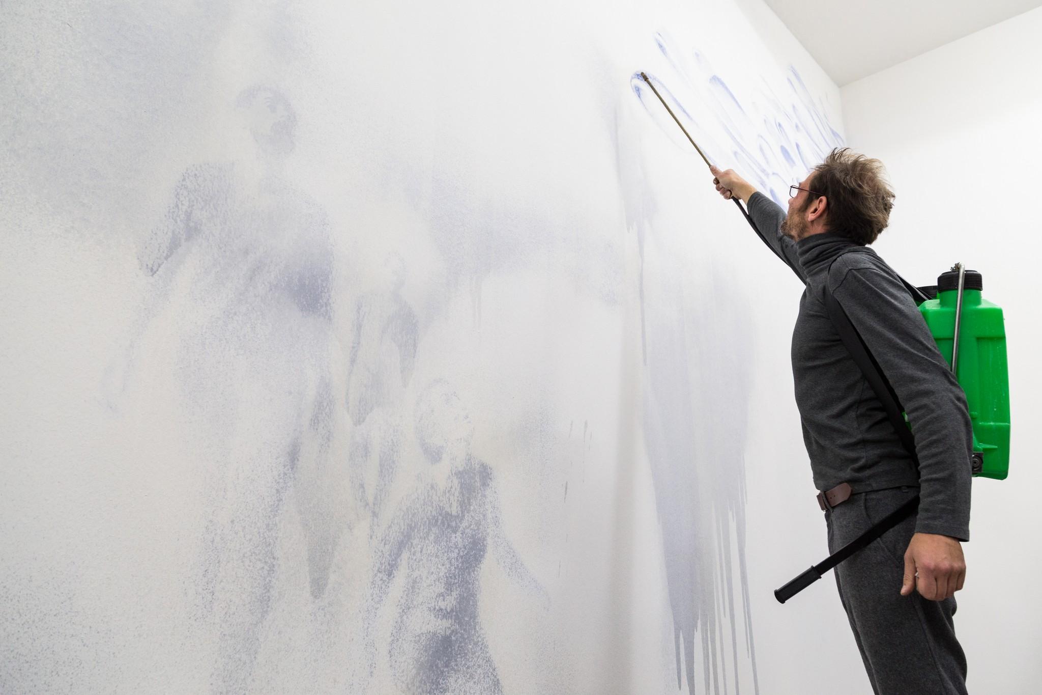 Matteo Montani, Unfolding, Galleria Nicola Pedana, 2017-2018; © Danilo Donzelli Photography