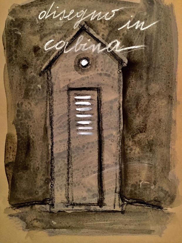 Stefania Fabrizi. Disegno in cabina