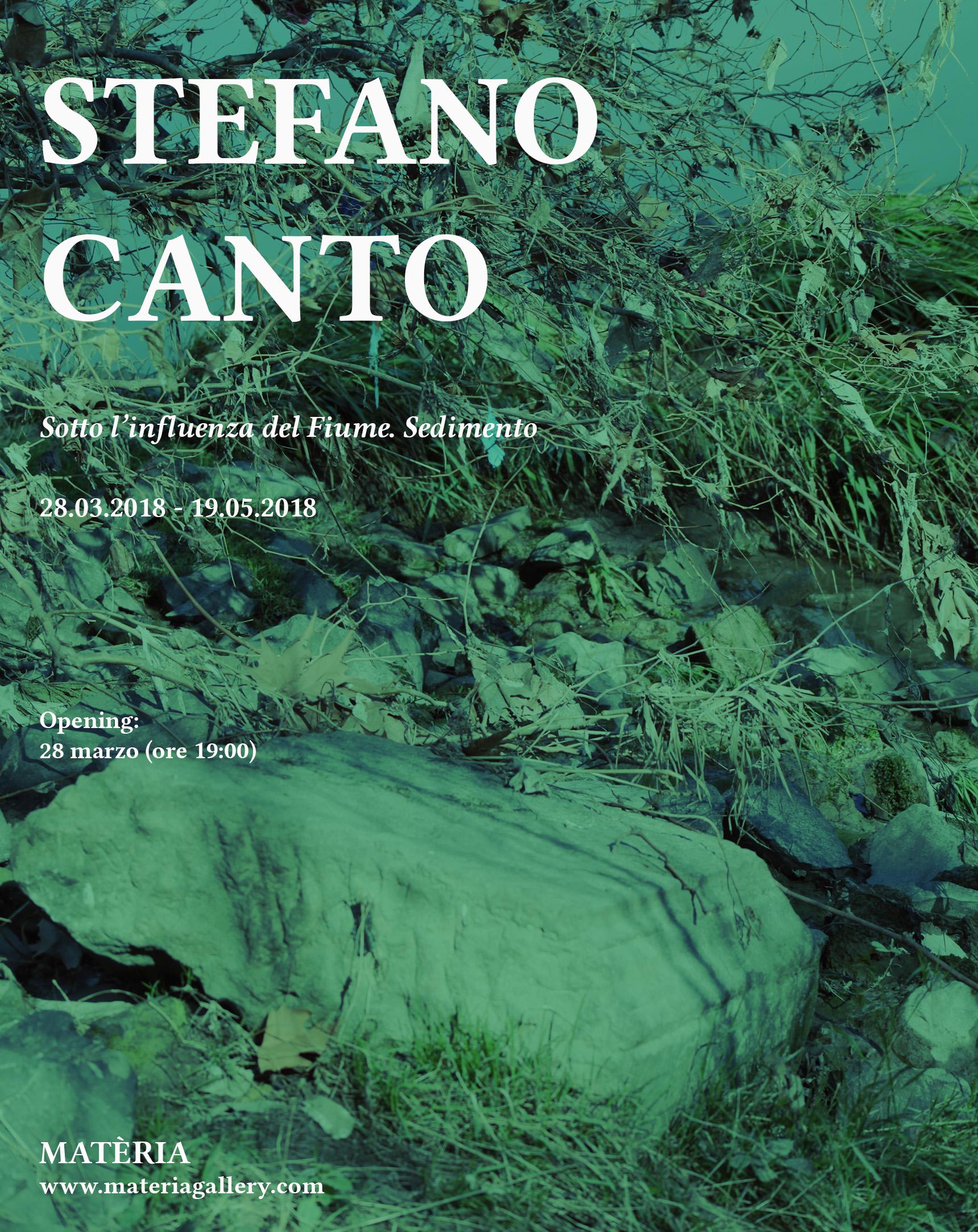 STEFANO CANTO – Sotto l'influenza del Fiume. Sedimento