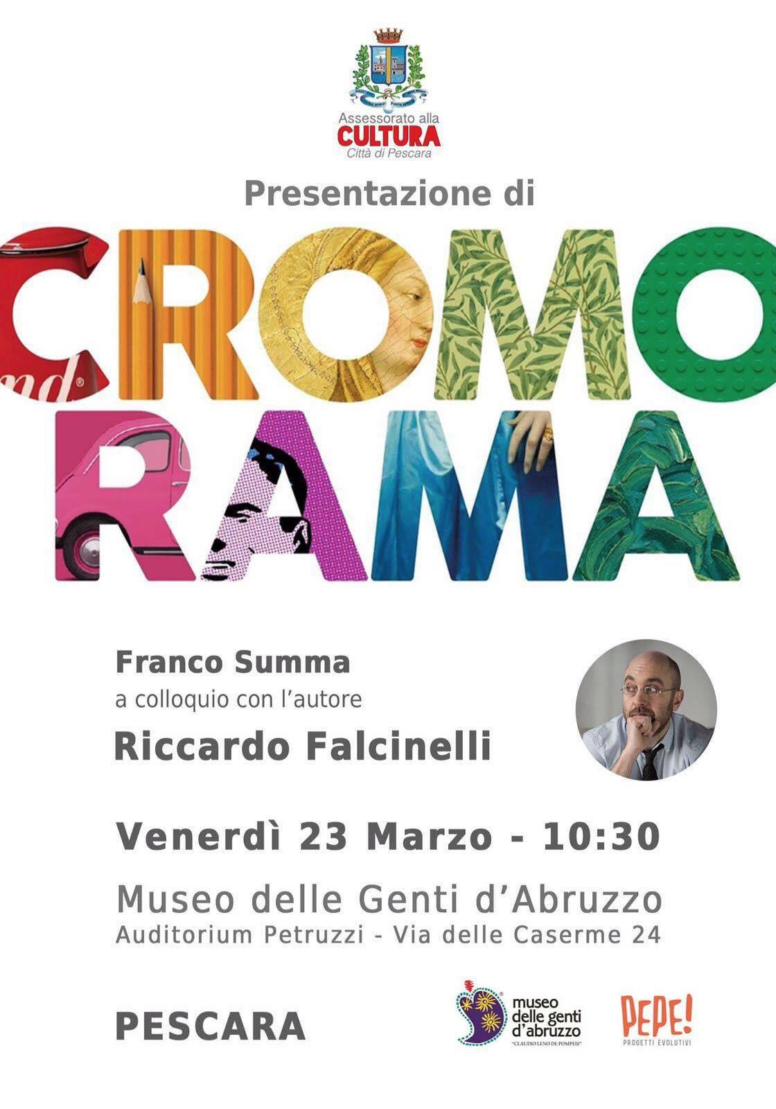 Cromorama, incontro tra Riccardo Falcinelli e Franco Summa