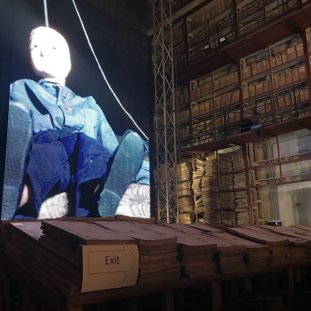 Masbedo, Archivio di Stato. - Manifesta 12 - Palermo