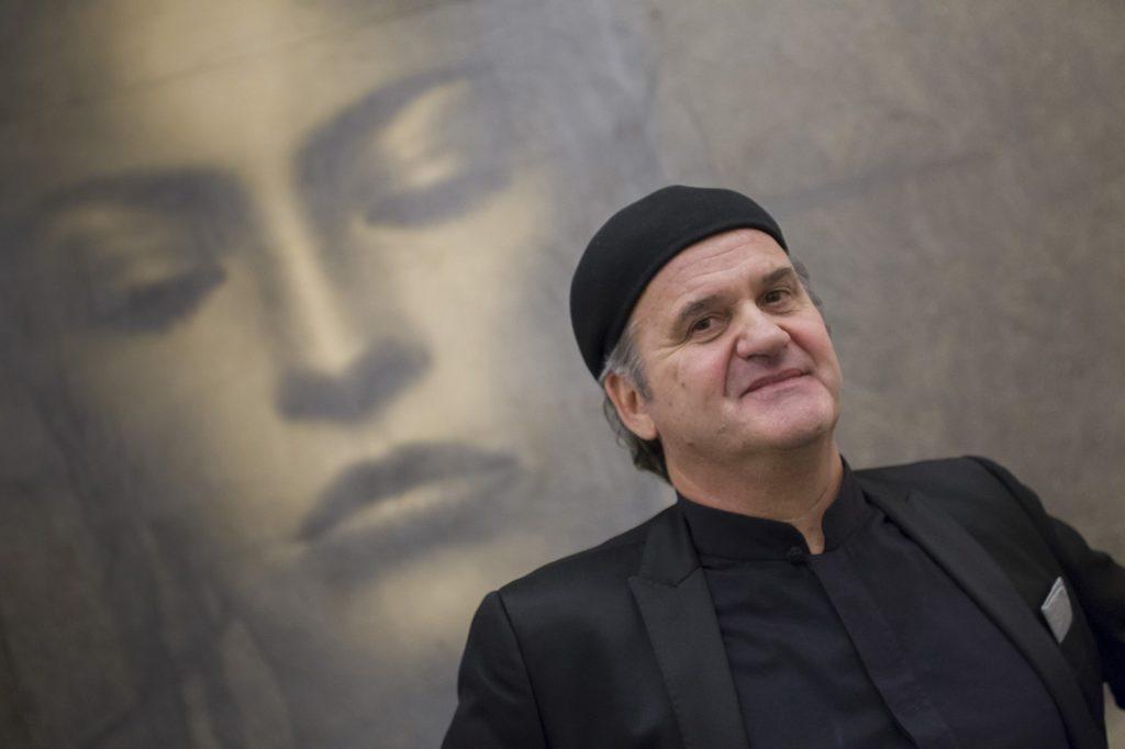 IL DISEGNO ITALIANO IN CINA – l'opera a matita di Omar Galliani acquisita dal NAMOC di Pechino