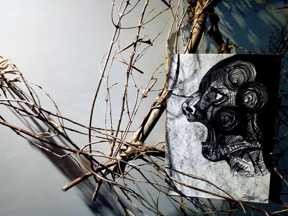 Paride Pino, Euforia ed Estasi del guerriero - Fondazione Calmieri - Lecce 2018