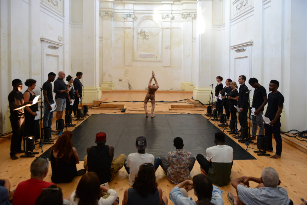 Arte & Jazz PERFORMING: voce, corpo e suono