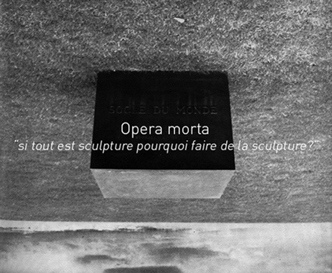 Opera morta