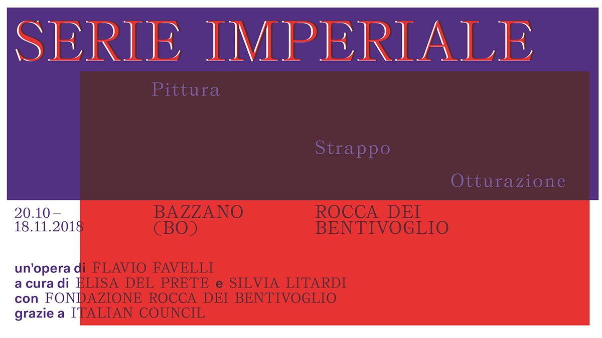 Flavio Favelli – Serie Imperiale. Dittico
