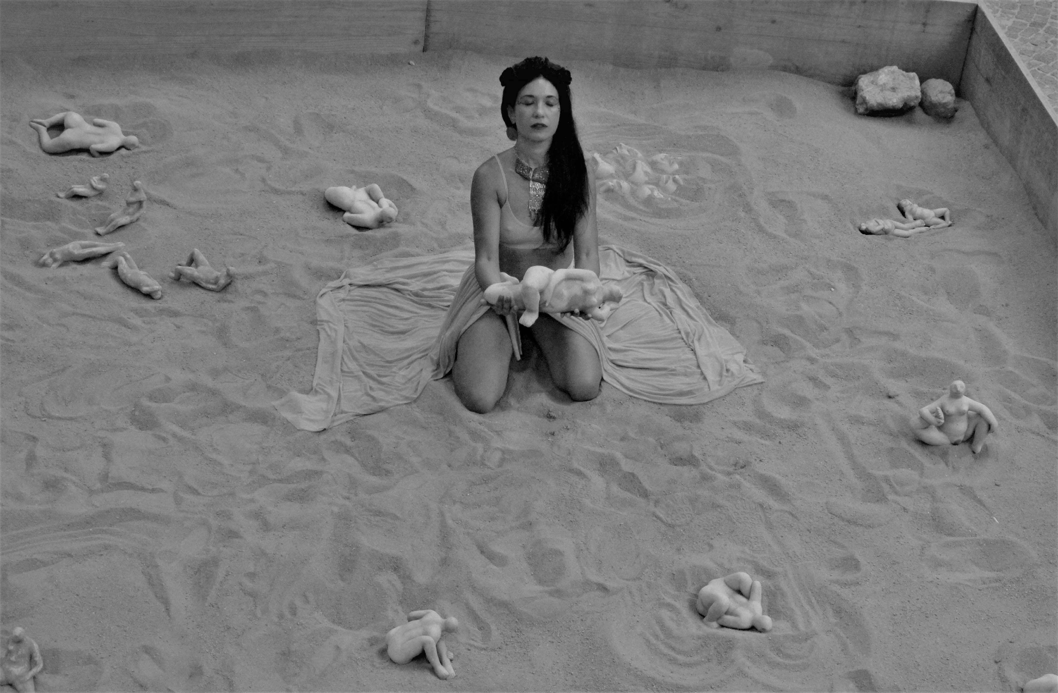 TONANTZIN-performance con Ilaria Bordenca-