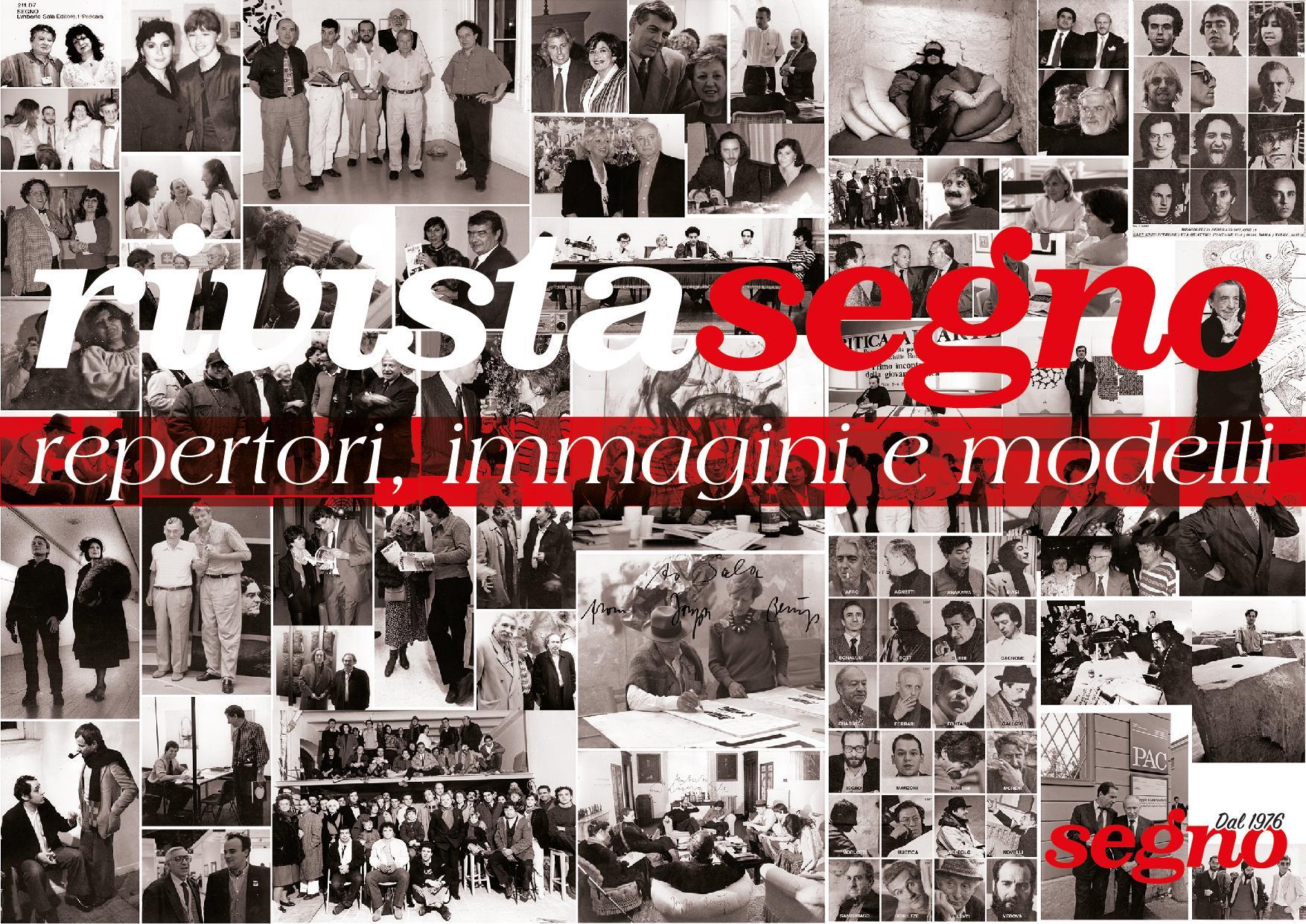 Rivista Segno: repertori, immagini e modelli