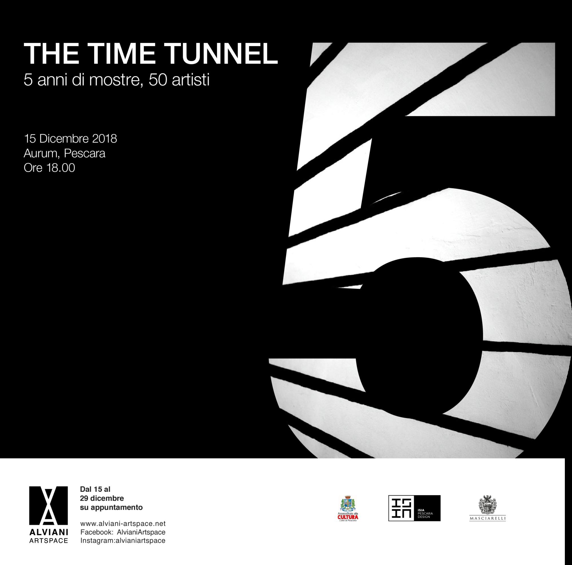 The Time Tunnel. 5 anni di mostre 50 artisti