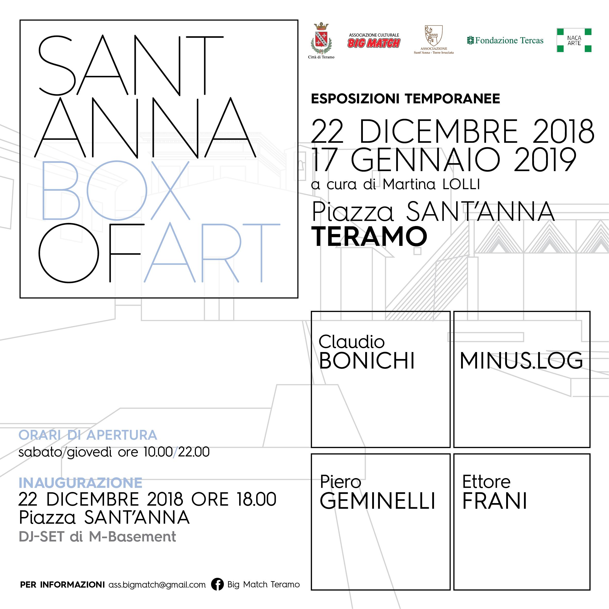 """Sant'Anna Box Of Art """"Visioni Metafisiche"""""""