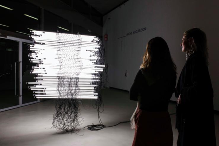 Monica Bonvicini, Bent and Fused, 2018 : foto Musacchio Ianniello courtesy Fondazione MAXXI