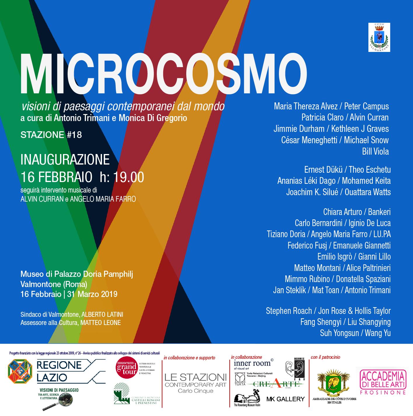 MICROCOSMO: visioni di paesaggi contemporanei dal mondo