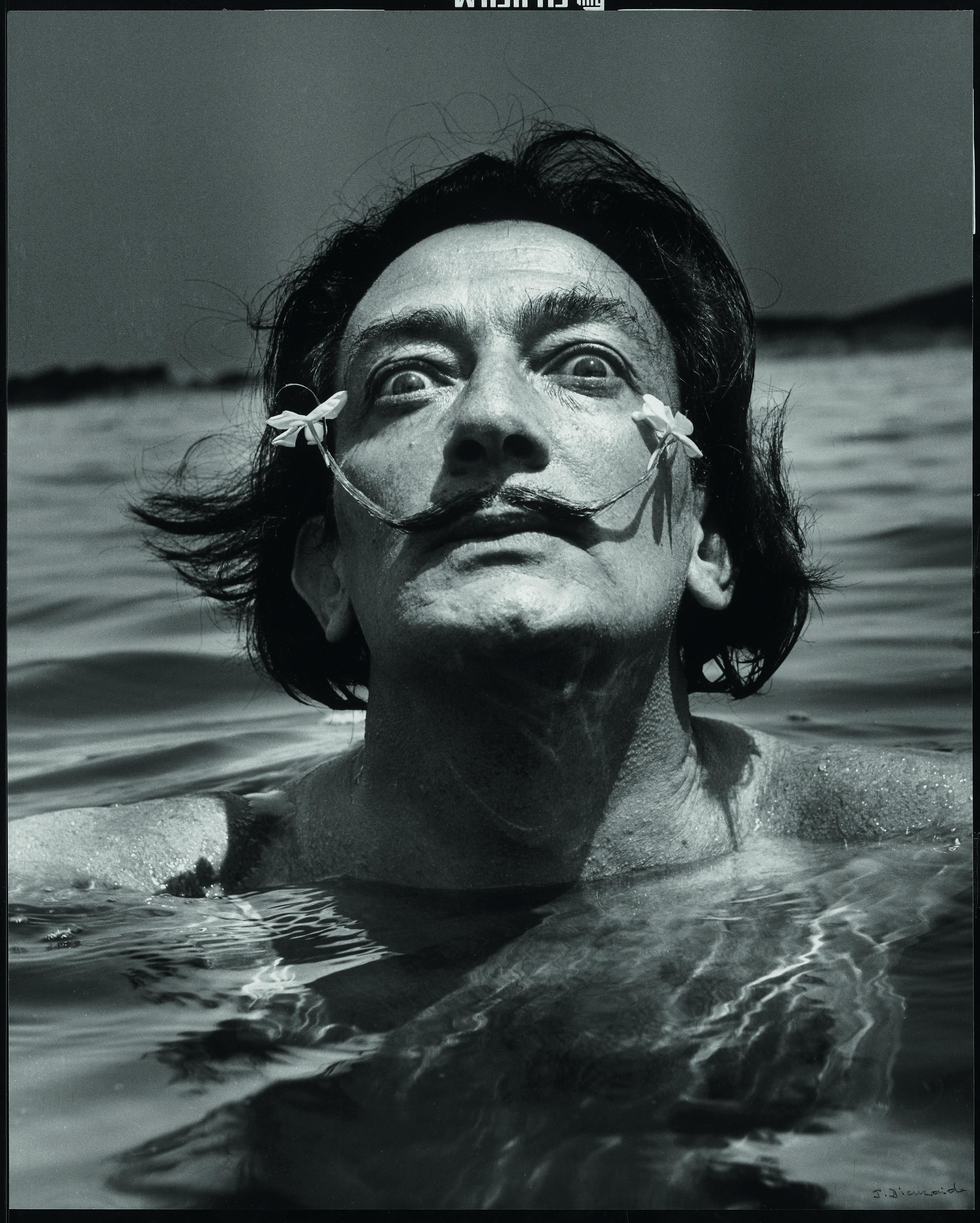 Salvador Dalí (1904 – 1989) Maler Foto: Jean Dieuzaide