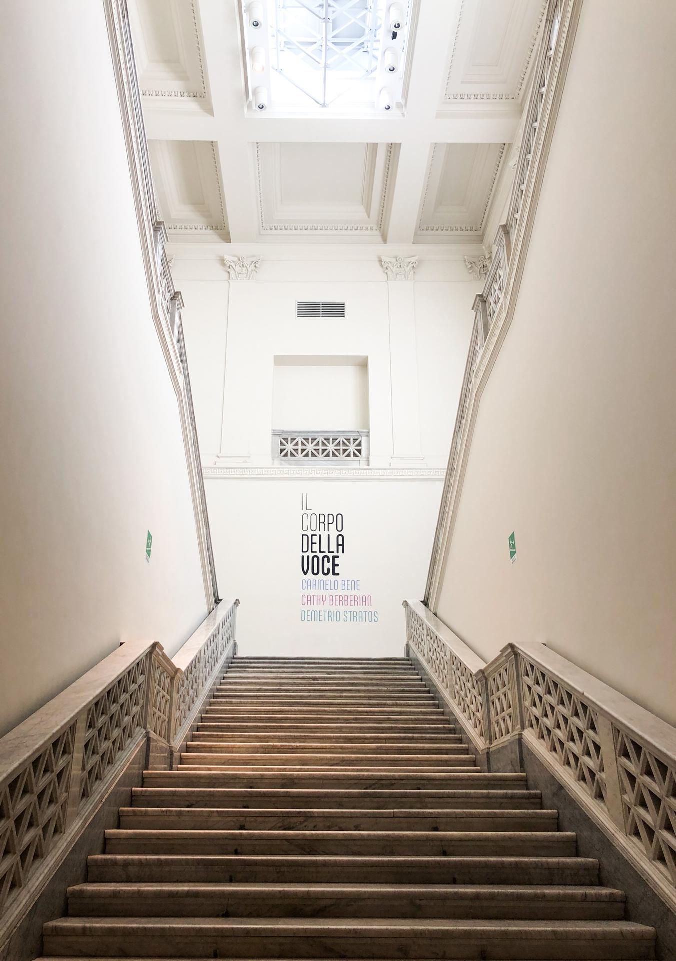 Il corpo della voce, Palazzo delle Esposizioni. Photo courtesy Amalia di Lanna