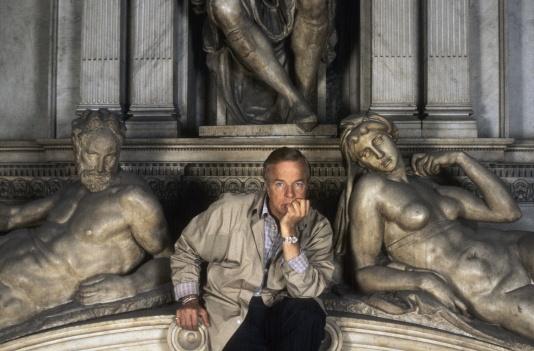 Franco Zeffirelli nelle cappelle Medicee