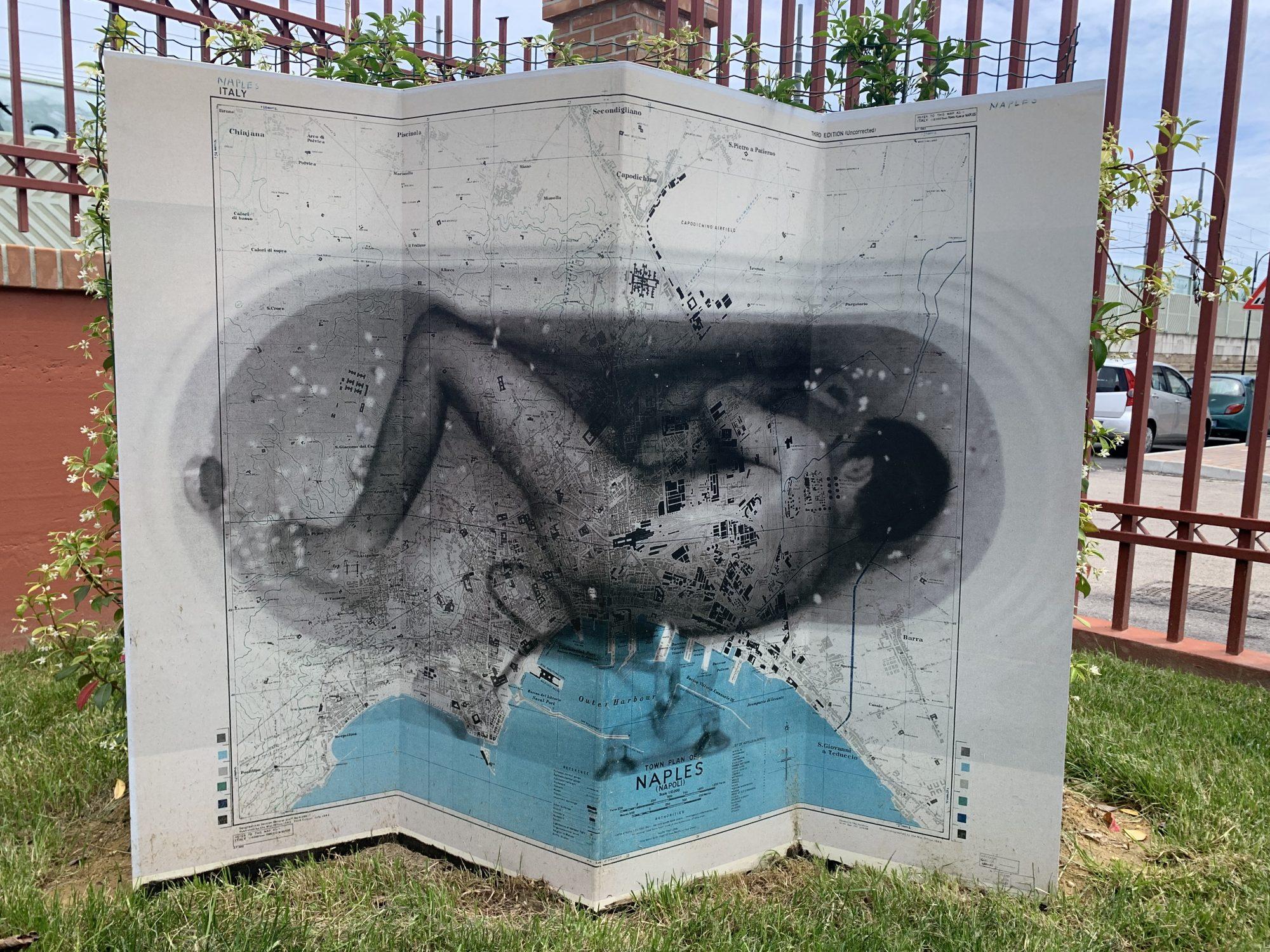 Pierpaolo Maria Perrone, Geografie Emotive - In Utero, I Giardini di via Caravaggio, Pescara 2019