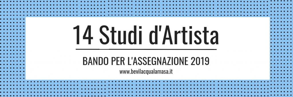 Bevilacqua La Masa: bando per assegnazione atelier