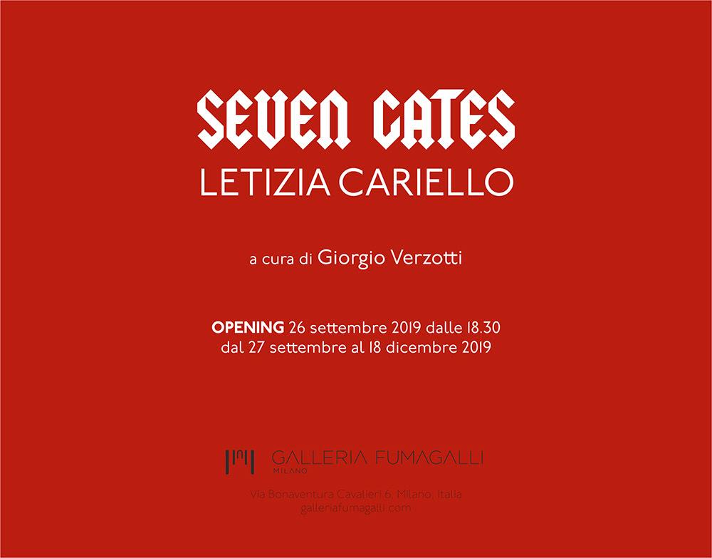 SEVEN GATES   LETIZIA CARIELLO