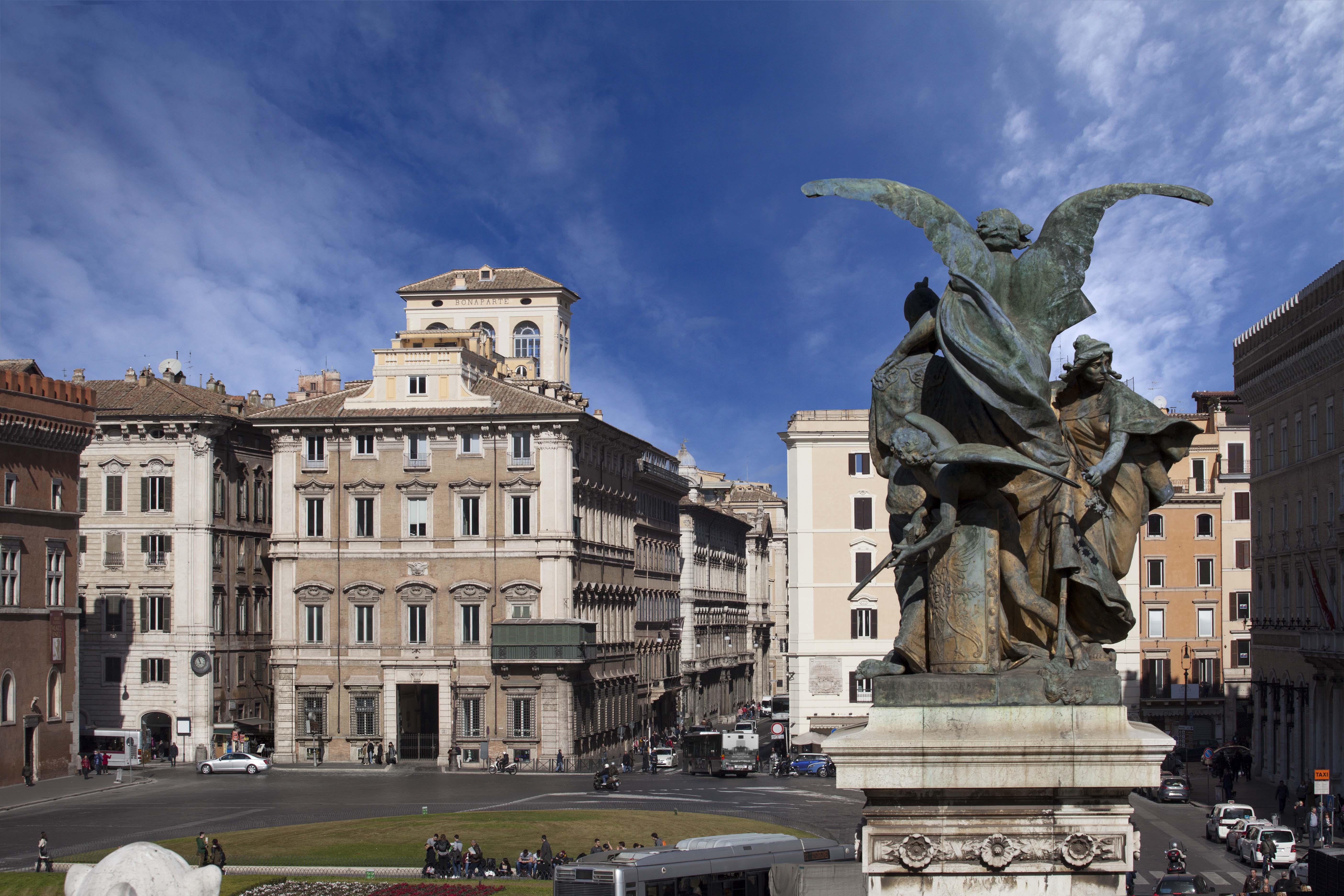 Palazzo Bonaparte, Piazza Venezia, Roma.