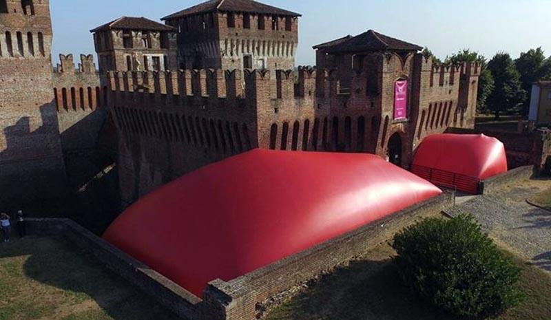 """""""X Biennale di Soncino. A Marco"""" – Rocca Sforzesca."""